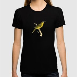 Grey-crowned Tanager Bird Illustration by William Swainson T-shirt
