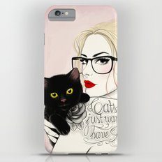 Cats just want to have fun! Slim Case iPhone 6 Plus