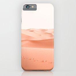 LANDSCAPE PHOTOGRAPHY OF DESSERT iPhone Case