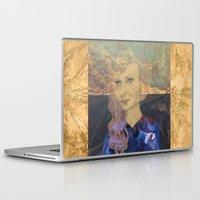 tina Laptop & iPad Skins featuring Tina by Nina Schulze Illustration