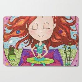 Meditation Om Zen Cutting Board