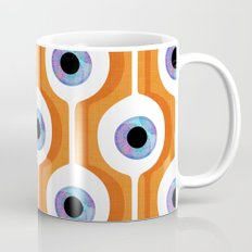 Eye Pod Orange Coffee Mug
