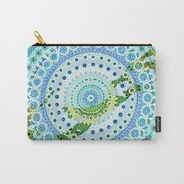 Bermuda Mandala Carry-All Pouch