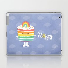 Happy Rainbow Cake Laptop & iPad Skin