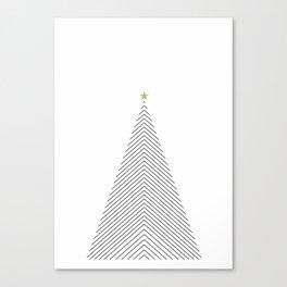 Minimal Christmas Tree #society6 #decor #buyart Canvas Print