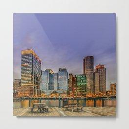 Boston Financial District Metal Print