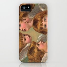 Little Angels - Kleine Engelchen iPhone Case