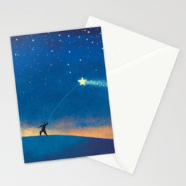 Stars Kite Stationery Cards