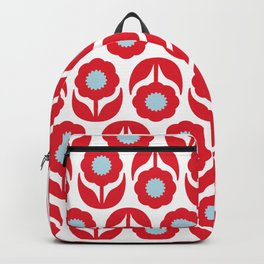 Joy collection - Red flowers Backpack