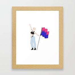 We're Just Strangers Framed Art Print