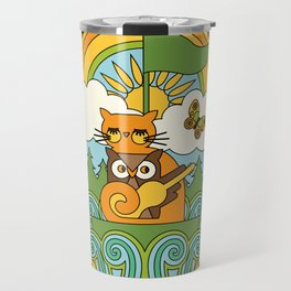 The Owl & The Pussycat Travel Mug