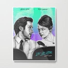 La La Land - Movie Inspired Art Metal Print