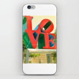 Philadelphia Love iPhone Skin