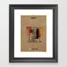 06_Cinema_ARTitecture Framed Art Print
