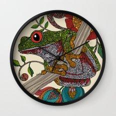 Phileus Frog Wall Clock