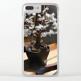Wire Bonsai Clear iPhone Case