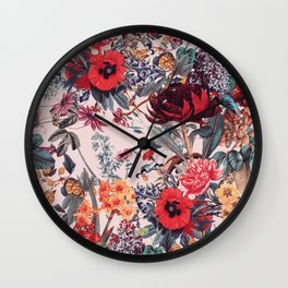 Magical Garden VIII Wall Clock