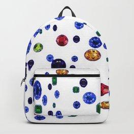 ASSORTED GEMS RAINING Backpack