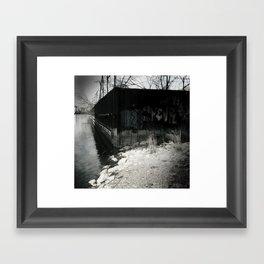 River's Edge Framed Art Print