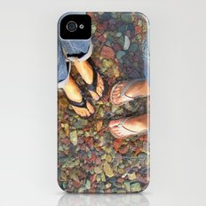 Getting Our Feet Wet iPhone (4, 4s) Slim Case