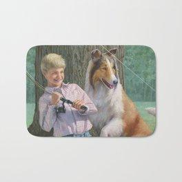 Timmy and Lassie Bath Mat