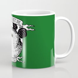 ADVENTURE AND TRASH Coffee Mug