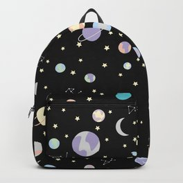 Suddenly - Space Pattern Backpack