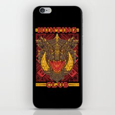Hunting Club: Akantor iPhone & iPod Skin