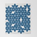 Poinsettia Stars – Classic Blue Palette by catcoq