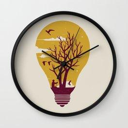 Unwind Wall Clock