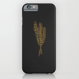 Golden Oat iPhone Case