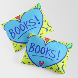 Books! Pillow Sham