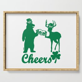 Happy St Patricks Day Cheers! Serving Tray