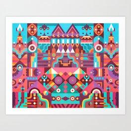Schema 9 Art Print