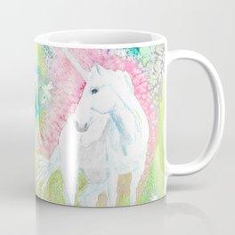 Unicorn and the Faries Coffee Mug