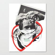 huh Canvas Print
