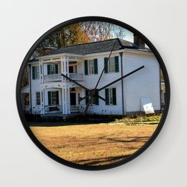 Cherokee Nation - The Historic George M. Murrell Home, No. 5 of 5 Wall Clock