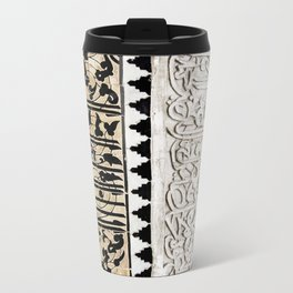 Tile Wall Marrakech  Travel Mug