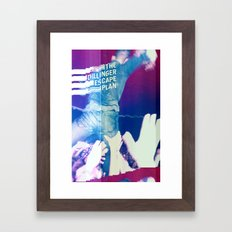 Glitching The Dillinger Escape Plan  Framed Art Print