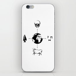 Anthropology: The Four Subdisciplines (Version 2.0) iPhone Skin