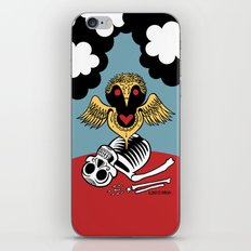 Búho de la Muerte iPhone & iPod Skin