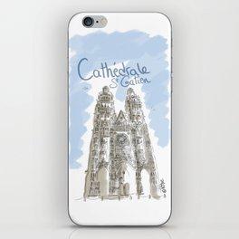 Cathédrale de Tours iPhone Skin