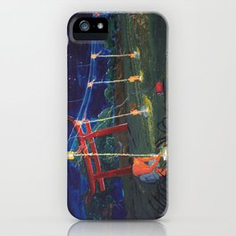 Those who light their lamps iPhone Case