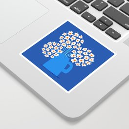 Abstraction_FLORAL_Blossom_001 Sticker