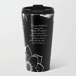 Arthur Rimbaud - I Dance - Phrases Travel Mug