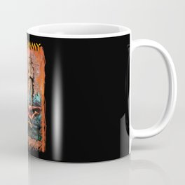 Woman in the red dress meets The Mummy Coffee Mug