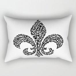 Fleur de lis Rectangular Pillow