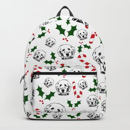 HAPPY CHRISTMAS GOLDENDOODLE DOG Gifts for you from monofaces for 2020 Backpack