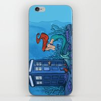 hallion iPhone & iPod Skins featuring Part of Every World by Karen Hallion Illustrations