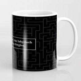 Labyrinth Quote - Looking for Alaska Coffee Mug